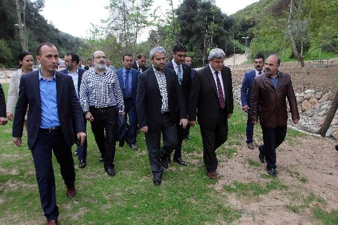 Karaosmanoğlu, Eski Bakan Ergün İle İnceleme Yaptı