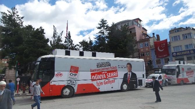 CHP Kastamonu Milletvekili Adayı Caner Yenidünya Tosya'da Seçmenlerle Buluştu