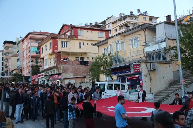 Demirci'de Türkçülük Günü Yürüyüşü