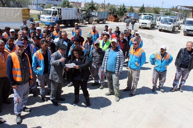 Didim'de Temizlik İşleri Personeline İş Güvenliği Ve Sağlığı Eğitimi