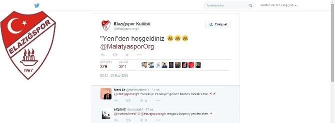 Elazığspor'dan Yeni Malatyaspor'a İmalı Mesaj