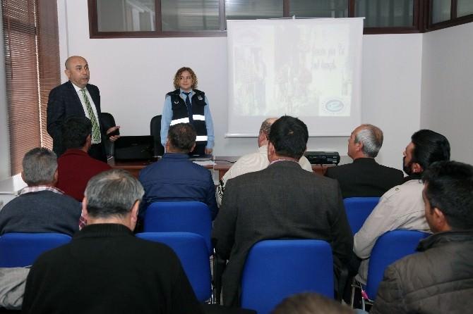 Büyükşehir Zabıtası'ndan Simitçilere Eğitim