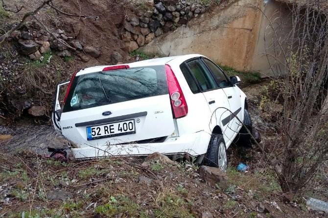 Gümüşhane'de Trafik Kazası: 4 Yaralı