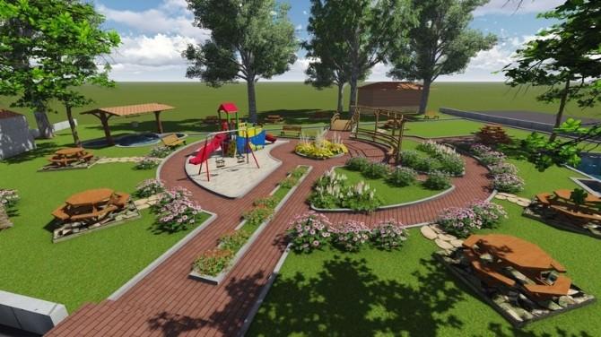 Manavgat Belediyesi'nden Çeltikçi Mahallesi'ne Yeni Park