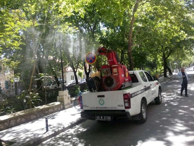 Büyükşehir'den Haşereyle Mücadele