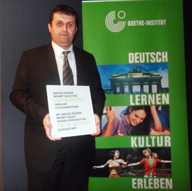 Şehzade Mehmet Koleji'ne Almanca Ödülü