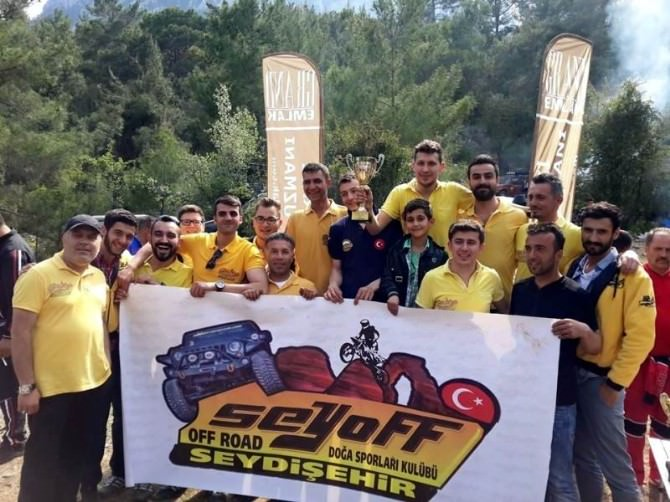 Akdeniz Of Road Oyunlarında Seydişehir'den İki Birincilik