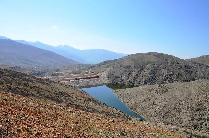 Elmalı Özdemir Göleti'nde Seviye Yüzde 90'a Ulaştı