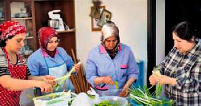 Osmanlı mutfağında pişen yemekler yeniden ocakta