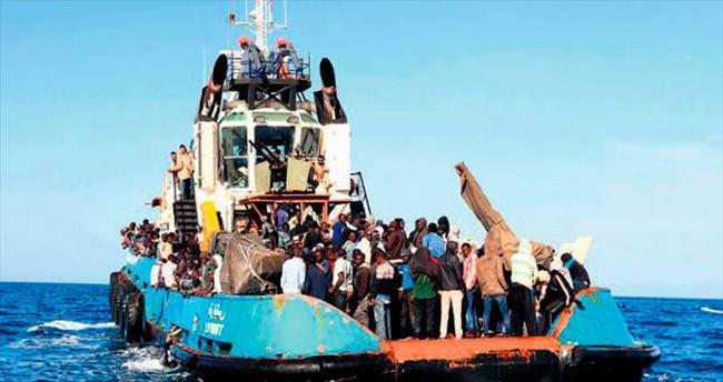 6 bin göçmen kurtarıldı,10 ölü var