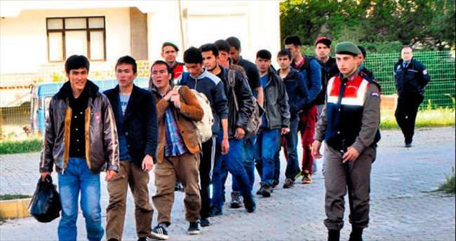 Kaçak göçmen akını
