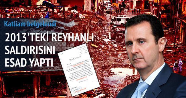 Reyhanlı saldırısını Esad rejimi yaptı