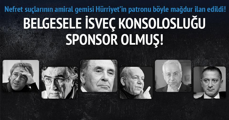 Nefret suçlarının amiral gemisi Hürriyet'in patronu böyle mağdur ilan edildi!
