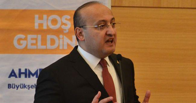 Yalçın Akdoğan Malatya'da sert konuştu