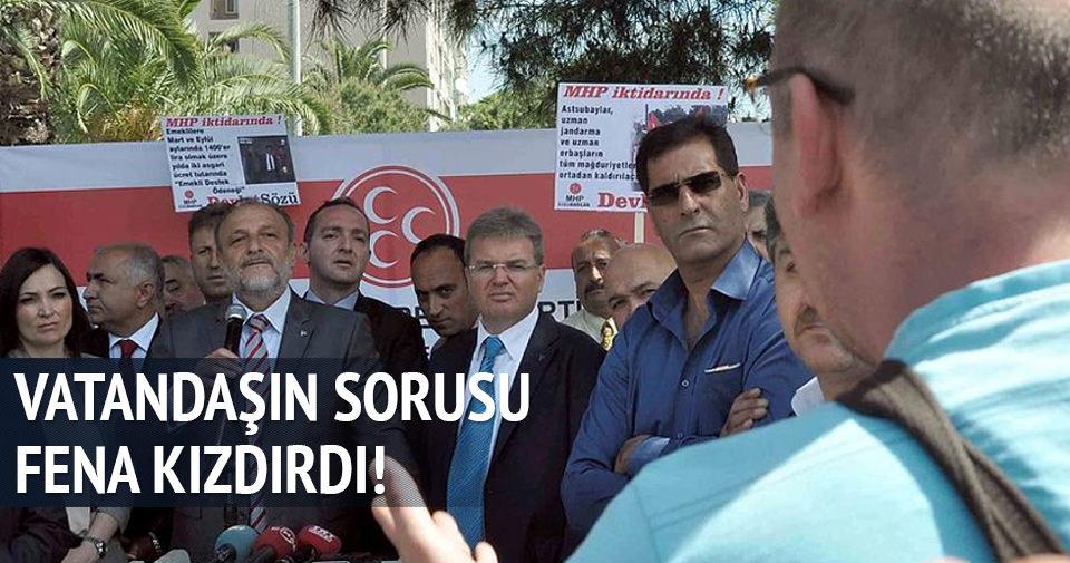 MHP'li Oktay Vural'ı kızdıran soru