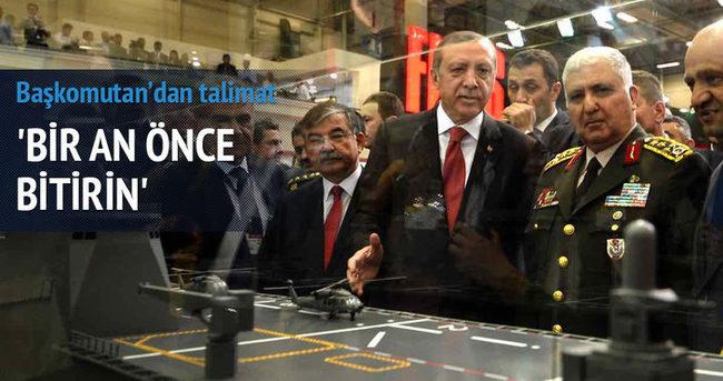 Erdoğan talimatı verdi! Bir an önce bitirin