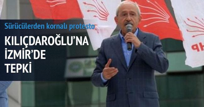 Kılıçdaroğlu'na İzmir'de tepki