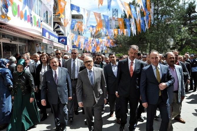 AK Parti Genel Başkan Yardımcısı Atalay Kırıkkale'de
