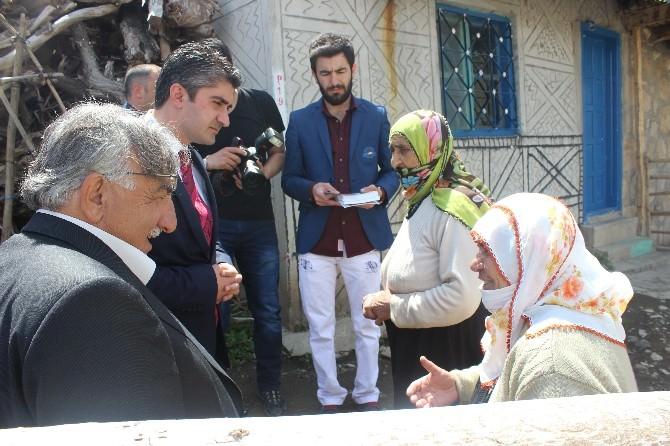 AK Partili Tarıkdaroğlu Oltu'daydı