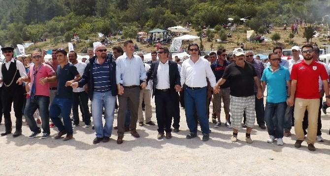 AK Partili Vekiller Bodrum'da