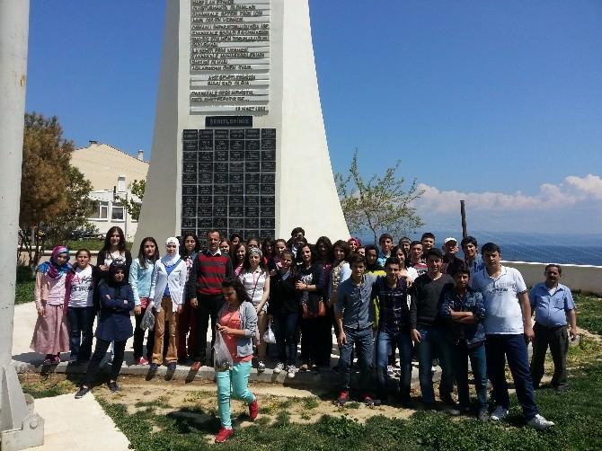 Öğrenciler Çanakkale'yi Gezdi