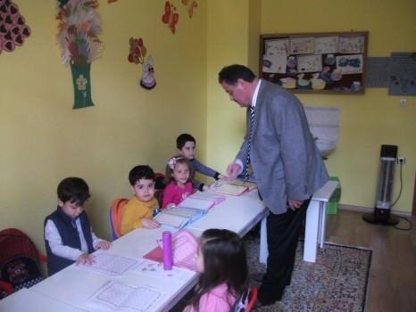 Müftü 4-6 Yaş Grubu Kur'an Kurslarına Ziyaret Etti
