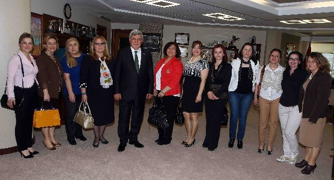 """Başkan Karaosmanoğlu: """"İş Kadınımızla Gurur Duyuyoruz''"""