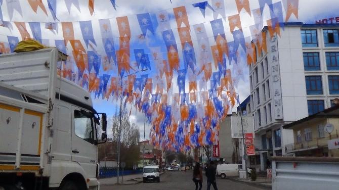 Kars'ta Başbakan Davutoğlu Hazırlığı