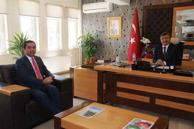 Başkan Bahçeci'den Başkan Akdoğan'a Ziyaret