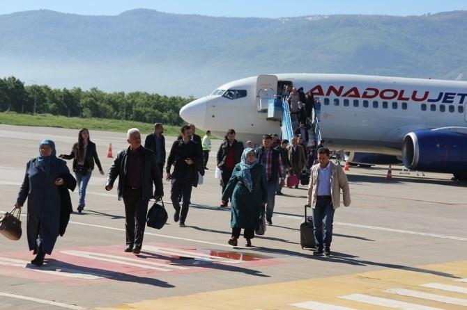 Cengiz Topel'den Uçuşlar Yeniden Başladı