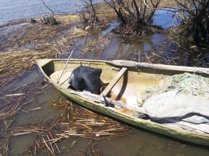 Beyşehir Gölü'nde İçi Ağla Dolu Balıkçı Kayığının Sahibine Ceza