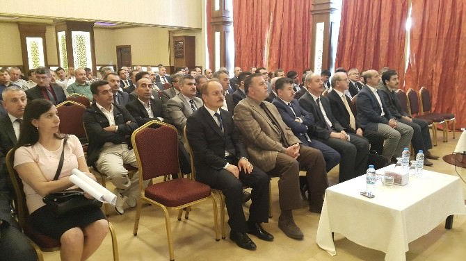 81 İlin İlçe Milli Eğitim Müdürleri Mersin'de Seminere Katıldı