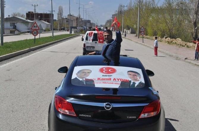 MHP Milletvekili Kamil Aydın: Erzurum'u Borç Bataklığına Soktular