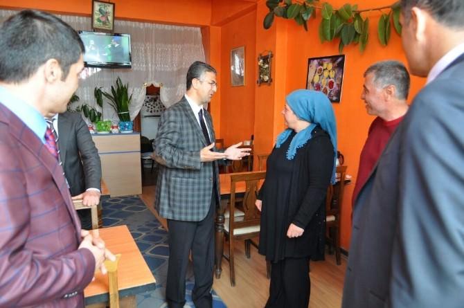 MHP'nin Erzurum Milletvekili Adayları Narman'da Coşkuyla Karşılandı