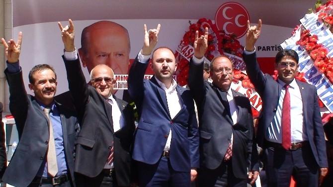MHP'den Ereğli'de Seçmen İletişim Merkezi Açılışı