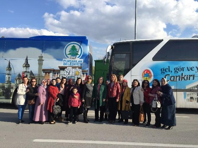 Pursaklar'dan Çankırı'ya 'Kardeşlik' Ziyareti