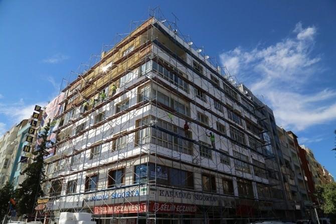 Şanlıurfa'da Binaların Dış Cephesi Artık TEK Tip Oluyor
