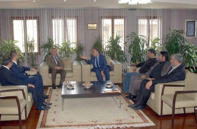 Saadet Parti'li Adaylar ATO'yu Ziyaret Etti