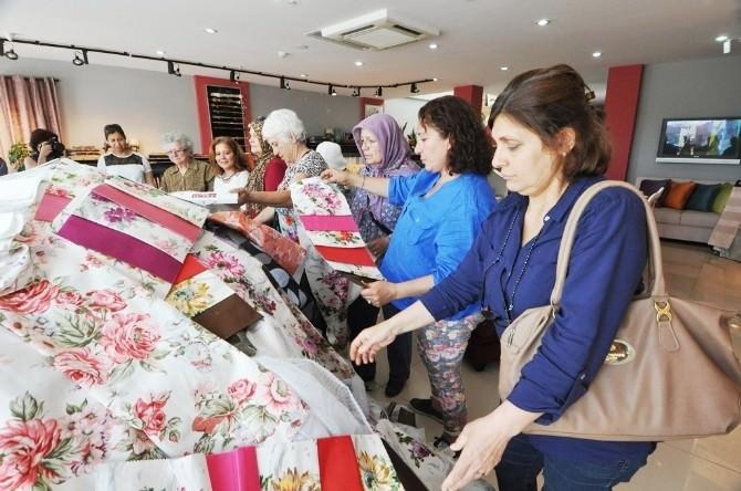 Bodrum'da Yarım Ton Atık Kumaş Ev Hanımlarınca Değerlendirilecek