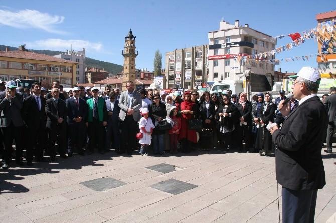 Yozgat'ta Belediye Başkanı Ve Milletvekili Çöp Topladı