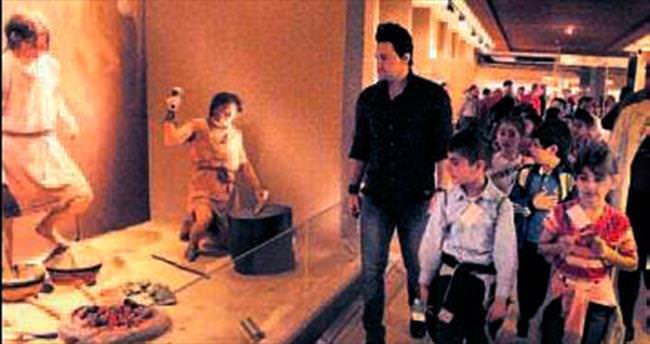 Çocuklara müzede tarih yolculuğu