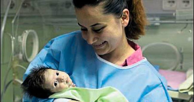 Alya bebek yaşam savaşını kazandı