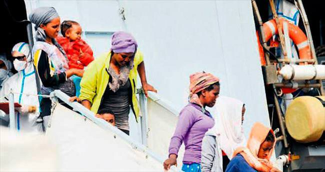 Akdeniz göçmen canına doymadı