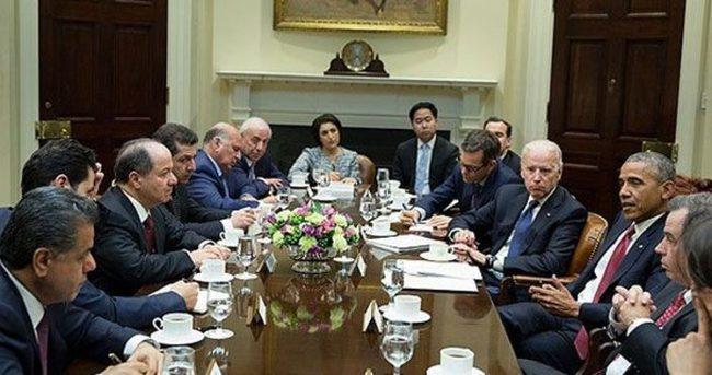 Barzani, Obama ve Biden ile görüştü