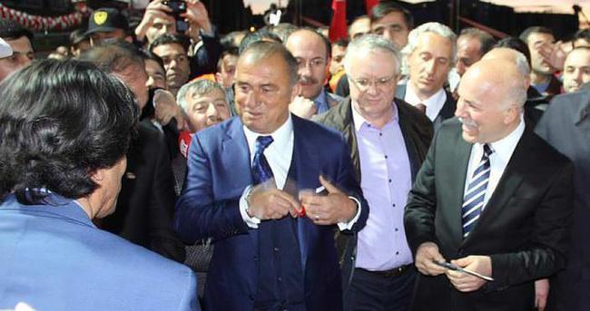 Erzurum'da Fatih Terim izdihamı
