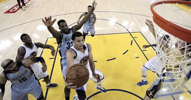 Warriors'a Grizzlies freni