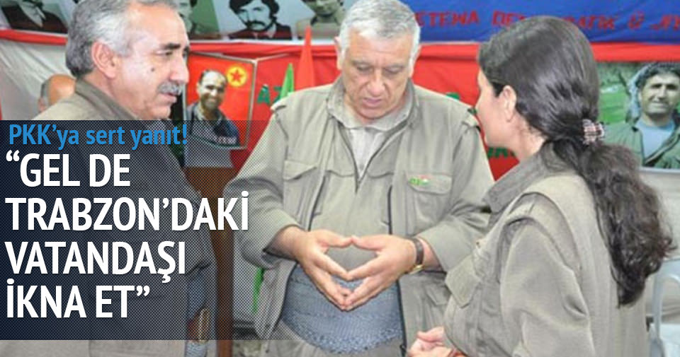 Akdoğan'dan PKK'ya çağrı