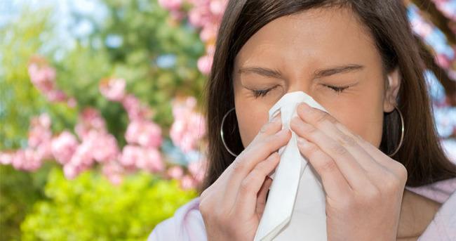 Yağışlar polen alerjisini azalttı