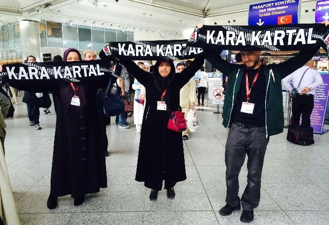 Düzce Beşiktaş Derneği 3 Kişiyi Umre'ye Gönderdi