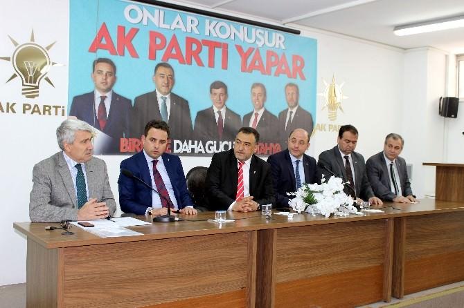 AK Parti'li Yöneticiler, Seçim Çalışma Sürecini Değerlendirdi